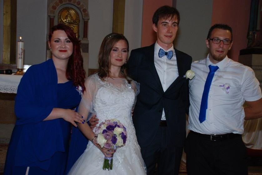 21. srpnja 2018. - Sakrament Ženidbe: Dražen i Lena Orkić