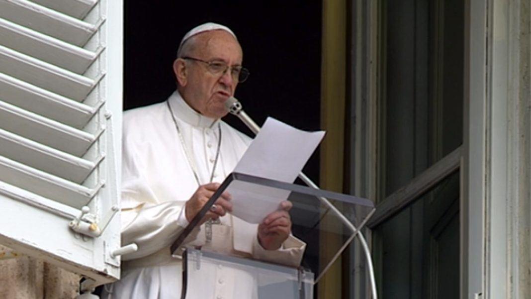 15. kolovoza 2018. - Papin nagovor uz molitvu Anđeo Gospodnji na svetkovinu Uznesenja Blažene Djevice Marije na nebo