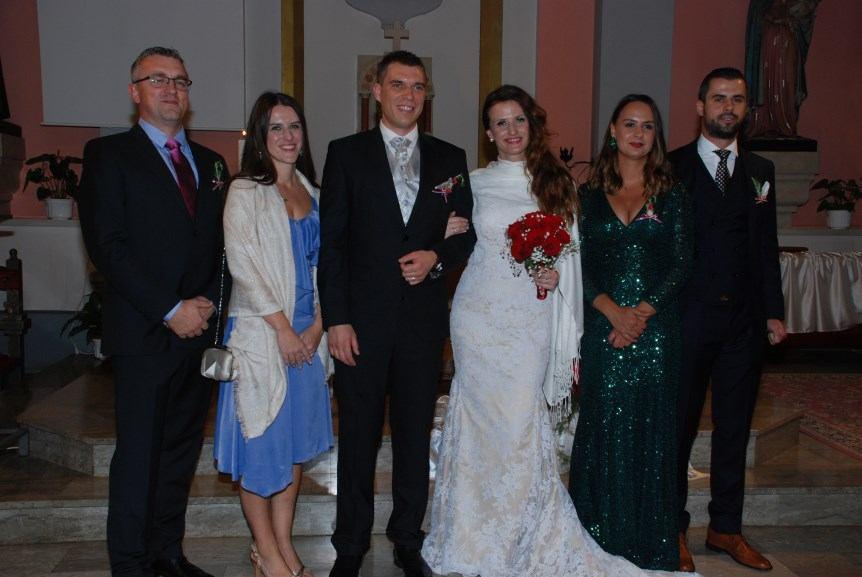 23. rujna 2018. - Vjenčanje Petra i Aleksandre Mutavdžija