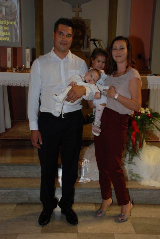 23. rujna 2018. - Krštenje Tea Majcan na Kantridi
