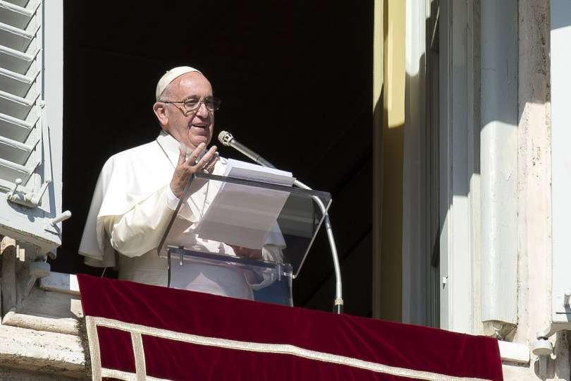 30. rujna 2018. - Angelus - Papin nagovor uz molitvu Anđeo Gospodnji u nedjelju