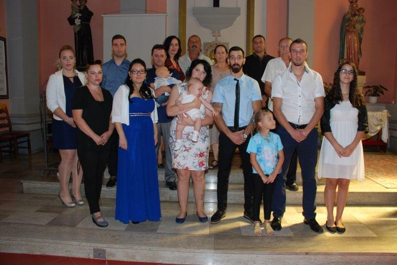 7. rujna 2018. Sakrament Ženidbe Leon Kuduzović i Katarina Vuković