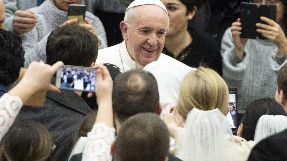 9. siječnja 2019. - Papina kateheza na općoj audijenciji u srijedu