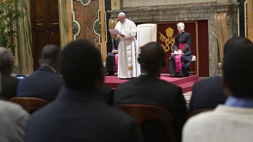 9. veljače 2019. - Papa - Neovisnost pravosuđa je temeljna