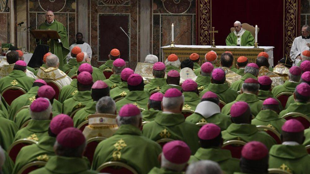 24. veljače 2019. - Vatikan - Papa Franjo: Crkva će se ozbiljno suočiti sa svakim slučajem zlostavljanja
