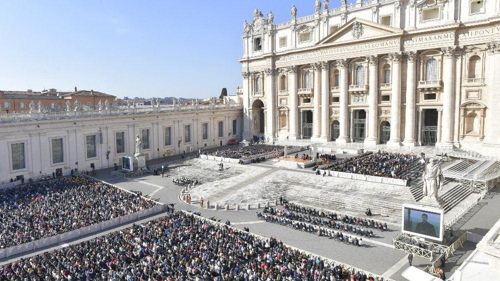 20. ožujka 2019. - Papin apel - Papina kateheza na općoj audijenciji u srijedu
