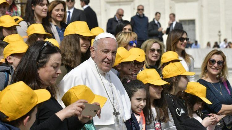 27. ožujka 2019. - Papina kateheza na općoj audijenciji u srijedu