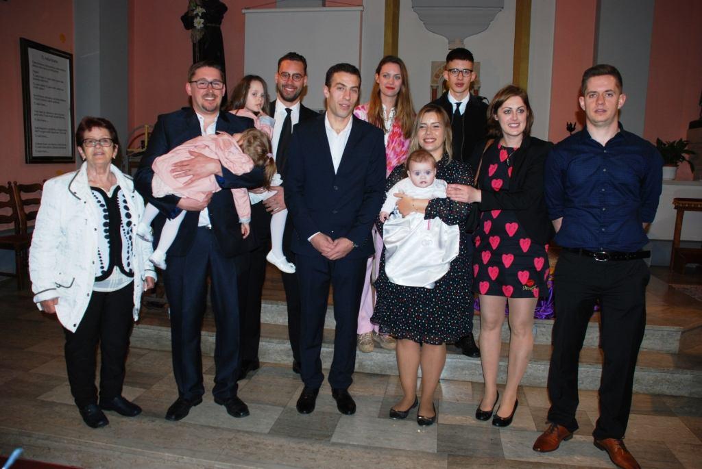 30. ožujka 2019. - Krštenje Eme Škrbina