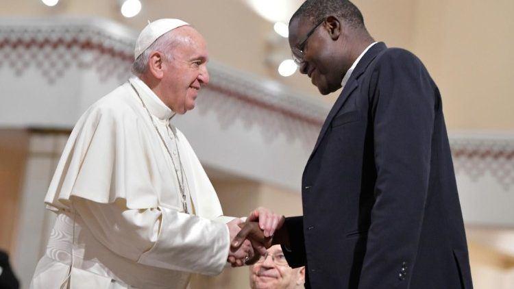 31. ožujka 2019. - Papin susret sa svećenicima, Bogu posvećenim osobama i predstavnicima Ekumenskog vijeća Crkava u Rabatu