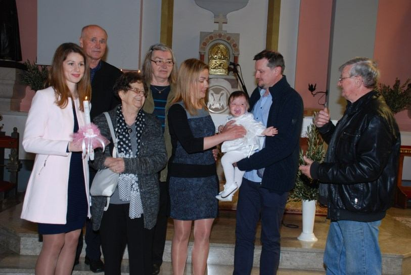 14. travnja 2019. - Sakrament Krštenja Mihaela Šalamon