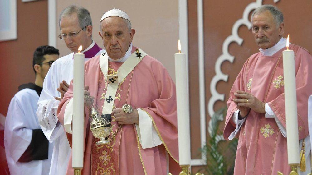 4. travnja 2019. - Papa: Dati prostora dobrim vijestima koje pobuđuju nadu.