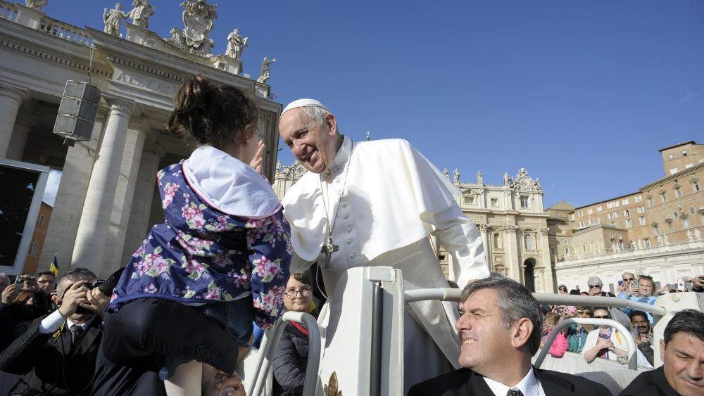 22. svibnja 2019. - Papina kateheza na općoj audijenciji u srijedu - Apel Svetoga Oca