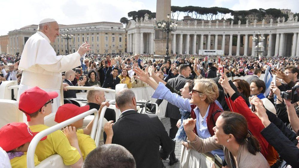 29. svibnja 2019. - Papina kateheza na općoj audijenciji u srijedu