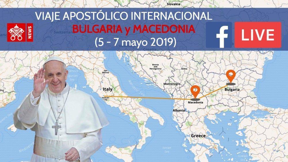 5. svibnja 2019. - Papa Franjo predvodio misu na Trgu Kneza Aleksandra u glavnom gradu Bugarske Sofiji