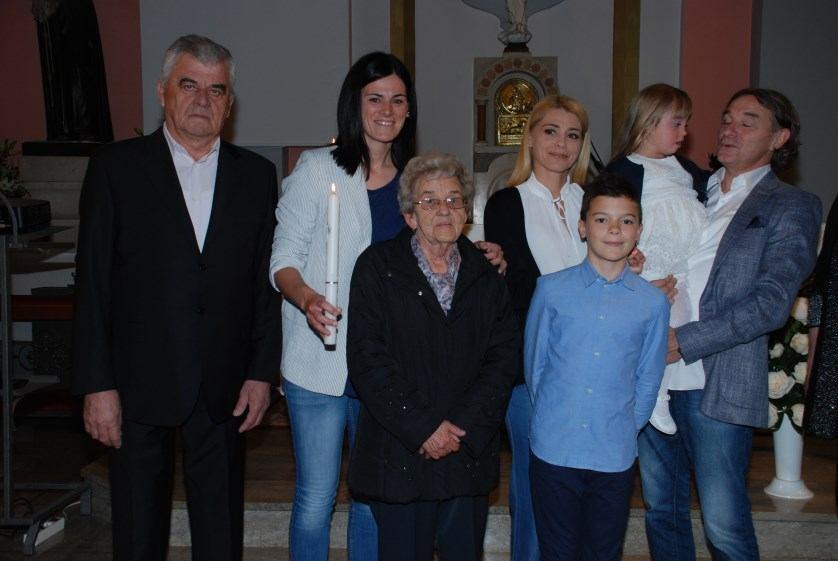 5. svibnja 2019. - Sakrament Krštenja Veronike Kosić