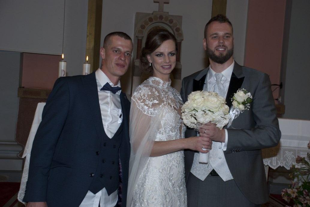 1. lipnja 2019. - Domagoj Filipović i Tamara Tomić slavili su sakrament Ženidbe
