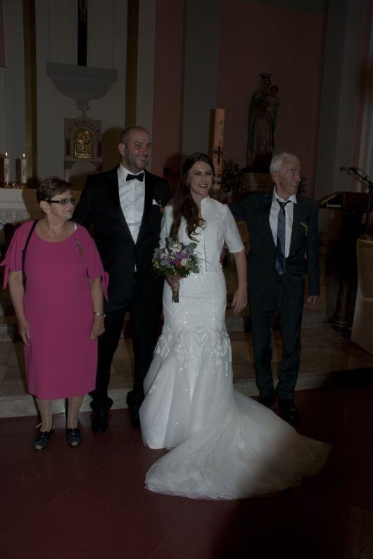 1. lipnja 2019. - Sakrament ženidbe slavili su Hrvoje Biondić i Kristina Katić