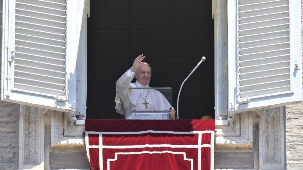 30. lipnja 2019. - Papin nagovor prije i nakon molitve Anđeo Gospodnji