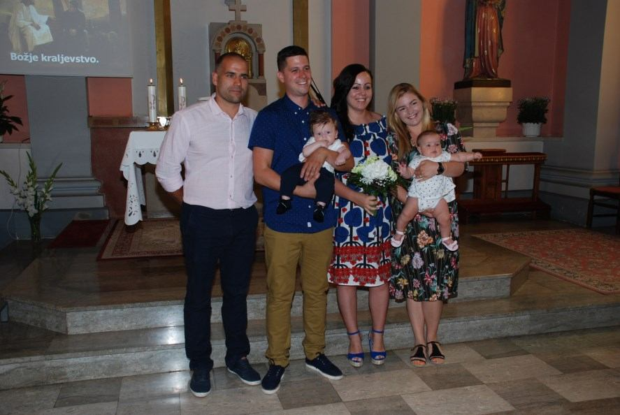 30. lipnja 2019. - Sakrament Krštenja, Matija Humljak