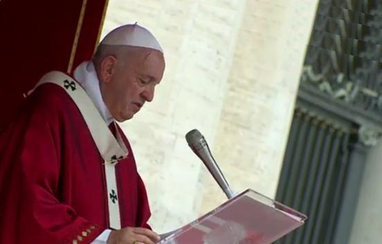 9. lipnja 2019. - svetkovina Duhova, papa Franjo predsjedao Euharistijskim slavljem na Trgu svetoga Petra u Vatikanu.