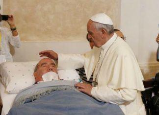 10. srpnja 2019. - Papa Franjo traži molitve za bolesne koji su ostavljeni umrijeti