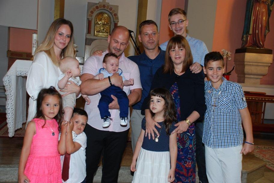 14. srpnja 2019. - Sakrament krštenja Luciana Butković