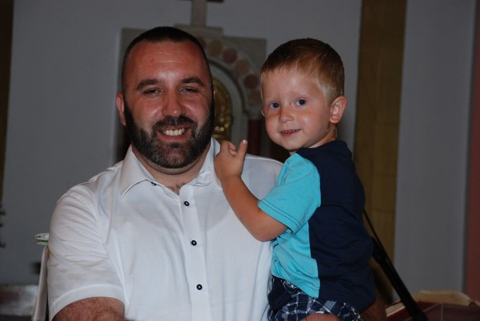 28. srpnja 2019. - Krštenje Borne Čajić