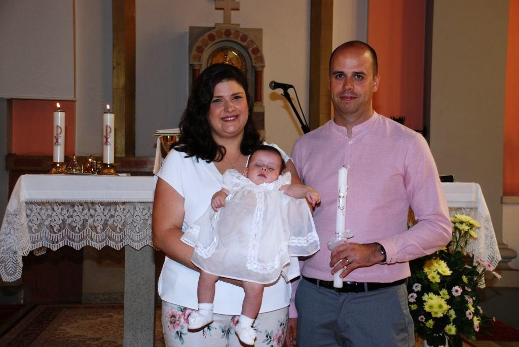 25. kolovoza 2019. - Sakrament Krštenja Marte Nemetz