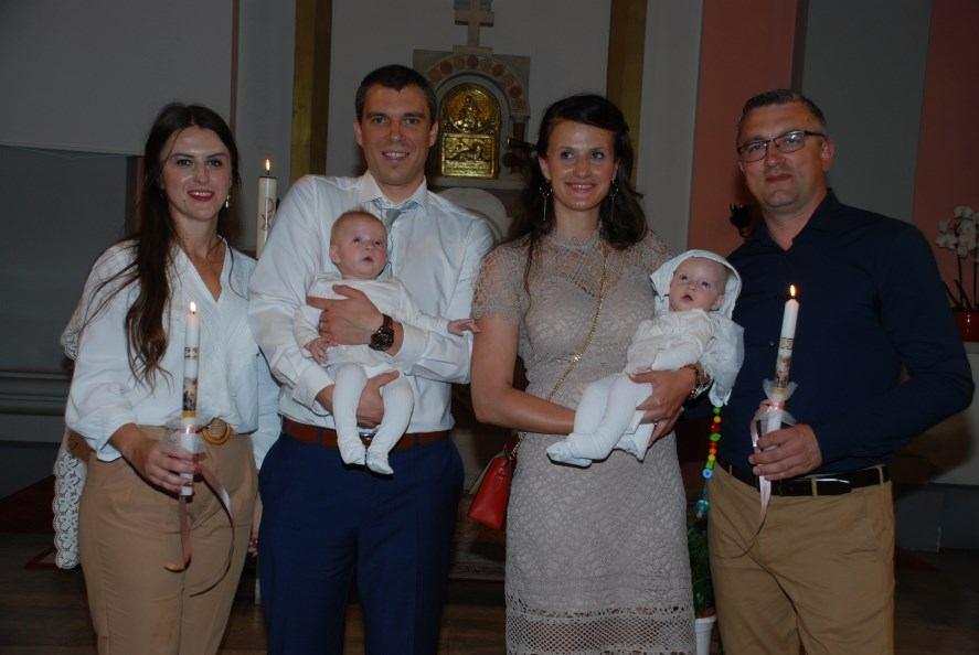 6. kolovoza 2019. - Sakrament Krštenja Leone i Valentine