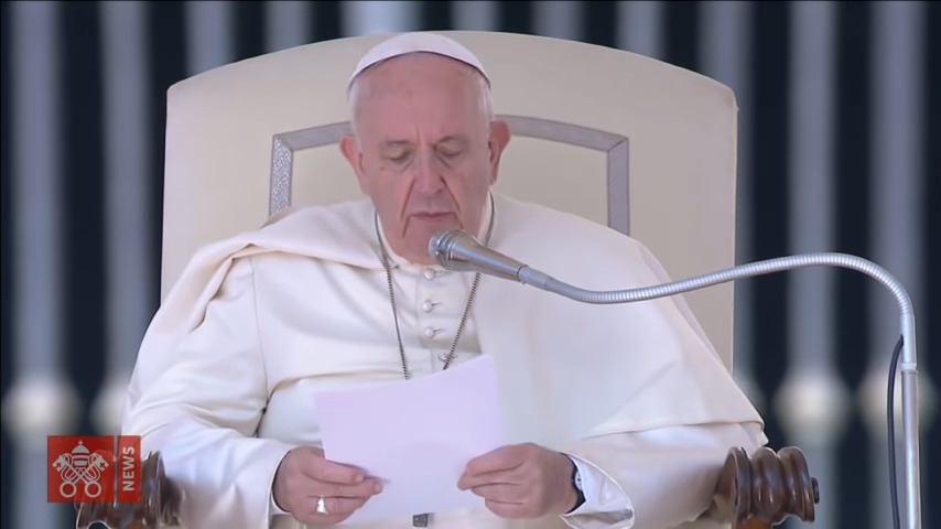 11. rujna 2019. - Papina kateheza na općoj audijenciji u srijedu