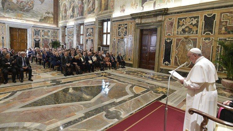 18. rujna 2019.  - Papina kateheza na općoj audijenciji u srijedu - Papin apel