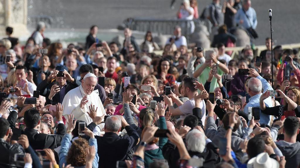 25. rujna 2019. - Papina kateheza na općoj audijenciji u srijedu