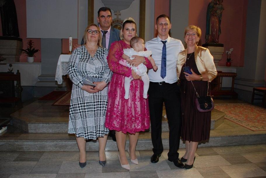 29. rujna 2019. - Sakrament Krštenja Zite Gašparović