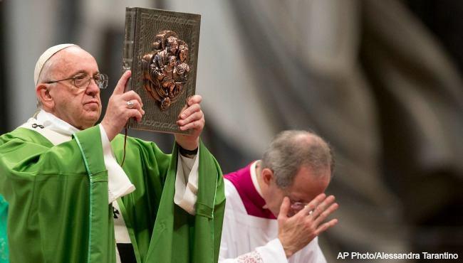 30. rujna 2019. - Papa ustanovio Nedjelju Božje riječi