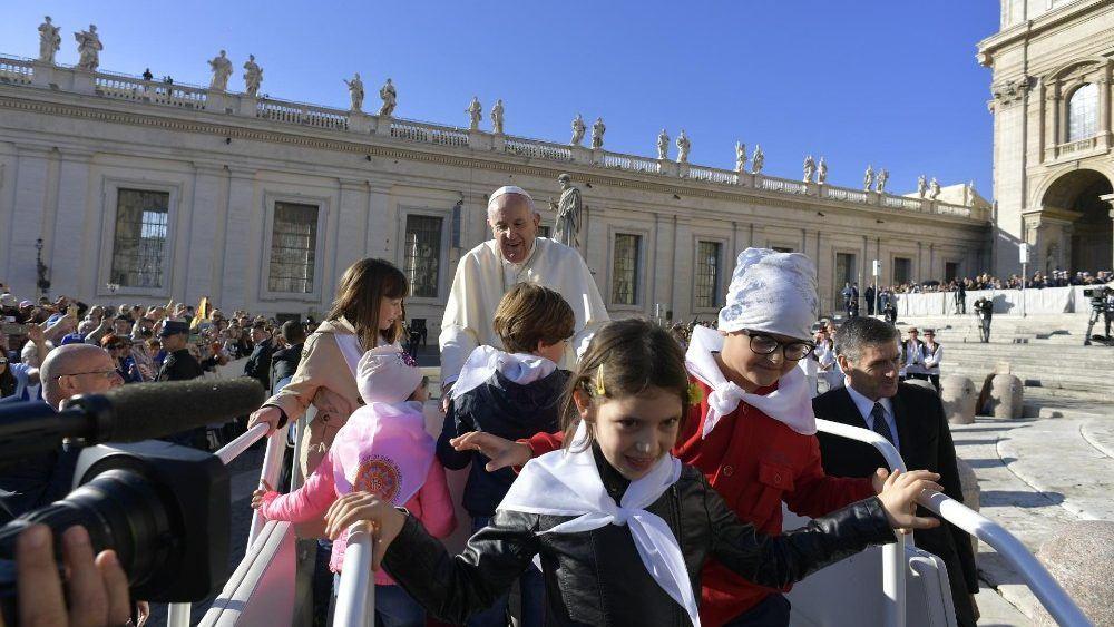 9. listopada 2019. - Papina kateheza na općoj audijenciji u srijedu