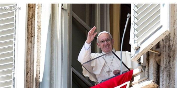 1. studenoga 2019. - Papin nagovor prije i nakon molitve Anđeo Gospodnji na svetkovinu Svih svetih,