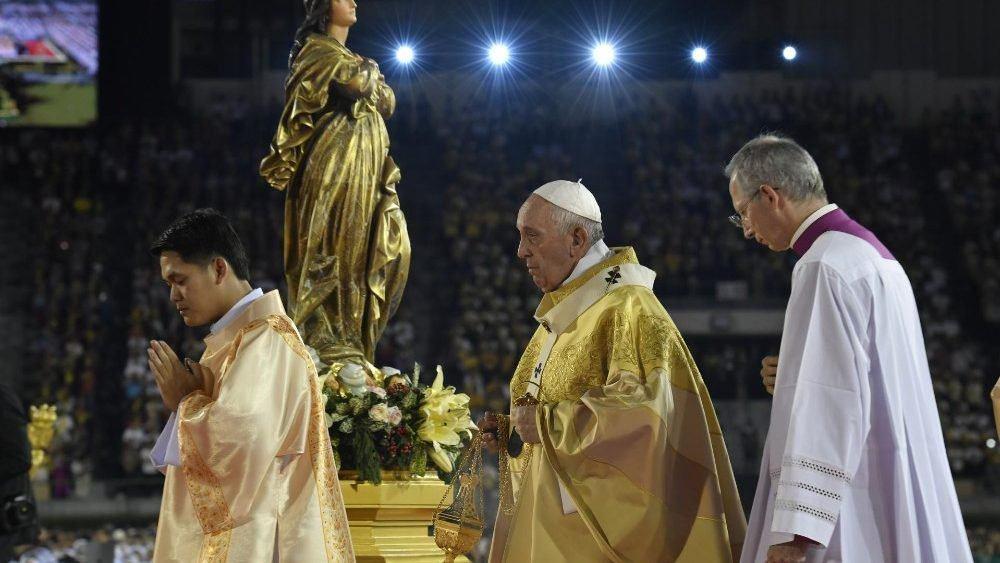 21. studenoga 2019. - Papa Franjo: Učenici misionari kako bismo s drugima dijelili Božje milosrđe.