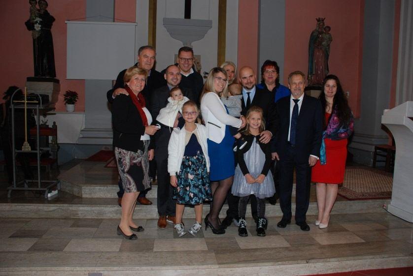24. studenoga 2019. - Krštenje Nikole Žuškin na Kantridi