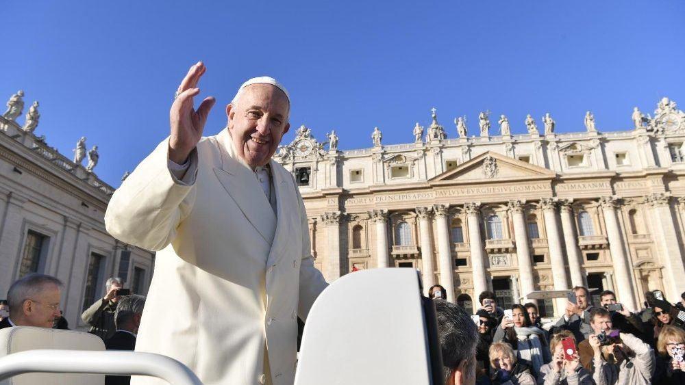 4. prosinca 2019 - Papina kateheza na općoj audijenciji u srijedu