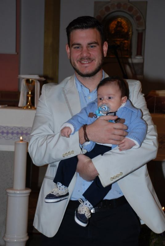 15. prosinca 2019. - Krštenje Bartola Nemetz
