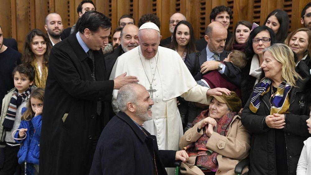 18. prosinca 2019. - Papina kateheza na općoj audijenciji u srijedu