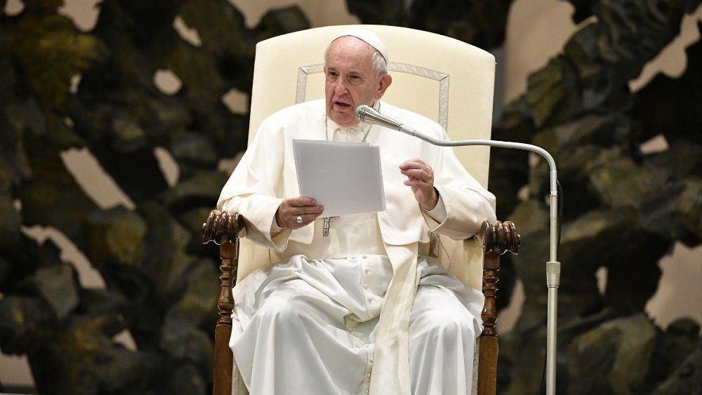 15. siječnja 2020. - Papina kateheza na audijenciji