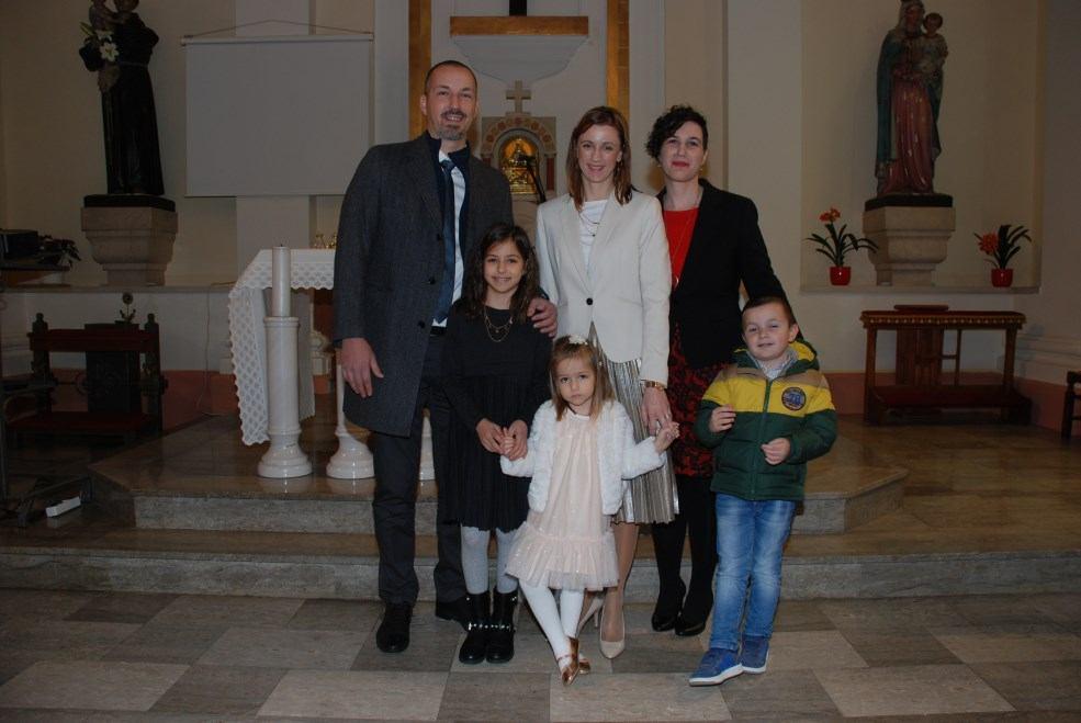 26. siječnja 2020. - Krštenje Tine Milovanović