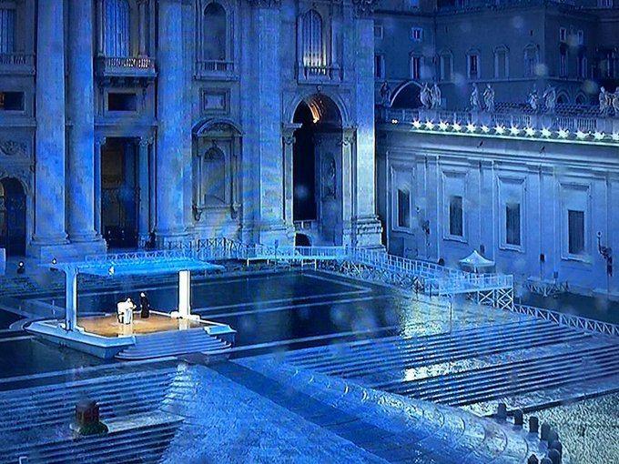 27. ožujka 2020. - Papina molitva