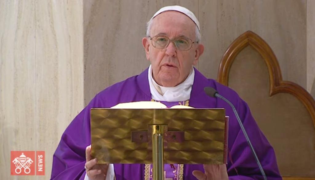 3. travnja 2020. - Papa molio za one koji misle na siromašne i gladne