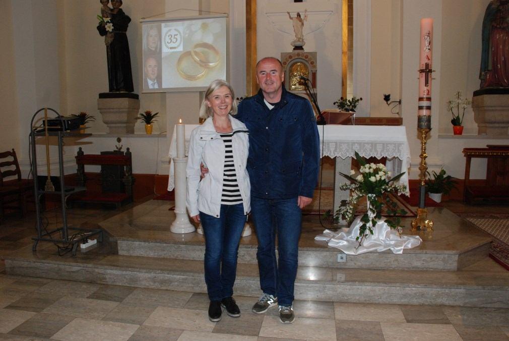 13. travnja 2020. - 35. godišnjica braka