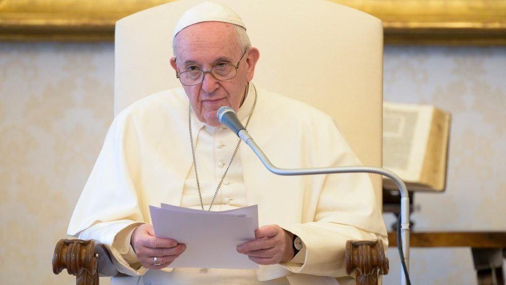 6. svibnja 2020. – Papina kateheza na općoj audijenciji u srijedu