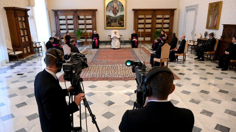 20. svibnja 2020. - Papina kateheza na općoj audijenciji u srijedu