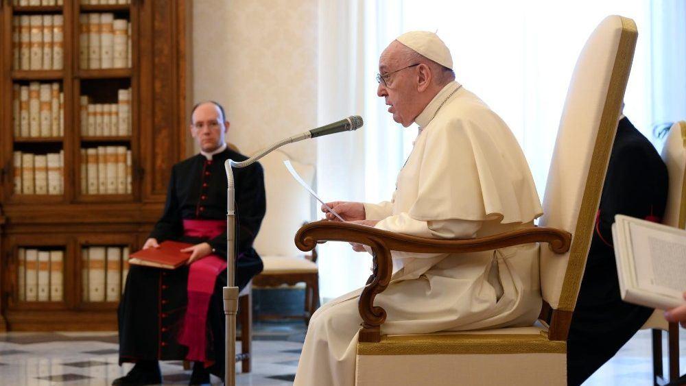 27. svibnja 2020. - Papina kateheza na općoj audijenciji u srijedu