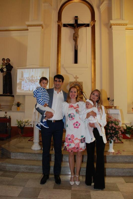 7. lipnja 2020. - Krštenje Mirjam Nemir